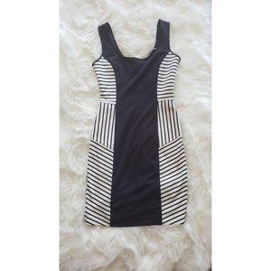 Zara Nautical Tank Dress Size M